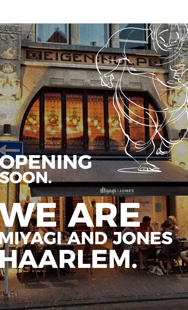 Opening soon in Haarlem